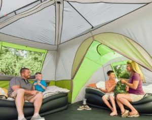Which size tent is best for a family