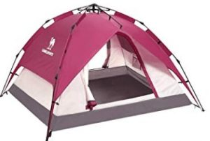 best 3 person camping tent