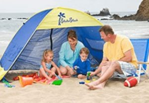 best family beach tent for rain and wind