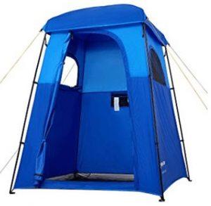 Shower tent with floor