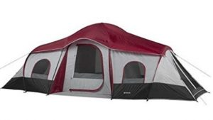 best ozark trail 10 person camping tents for rain