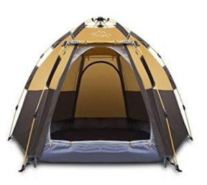 best 3/4 man pop up tent