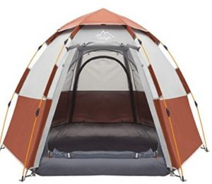 best 3/4 family tent for rain and wind
