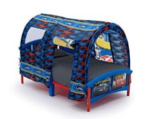 toyota car pattern bed tent