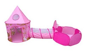 princess tent with tunnel