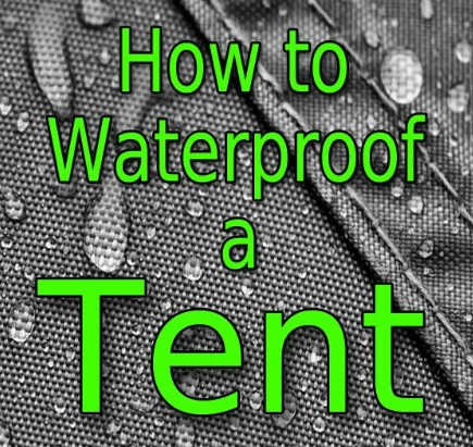 Are any tents waterproof