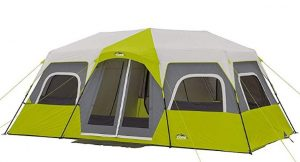 core 12 man two room instant tent