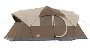 Coleman 10 person 2 room tent