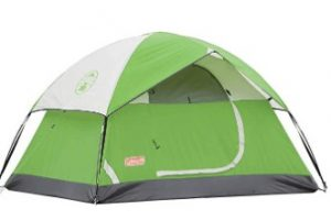 cheap Coleman couple tent for camping