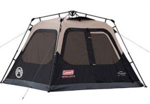 Spacious Coleman 4 Person Instant Cabin Tent