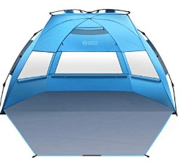 Pop up tent for beach camping