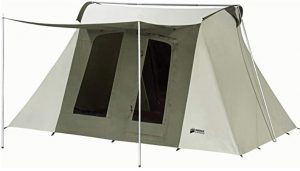 high quality 2 room tent made of canvas