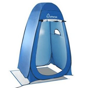 Wolfwise pop up privacy camping shower tent