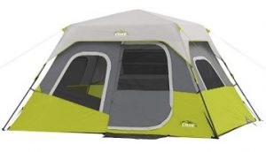 best core 6 person instant cabin tent for tall person