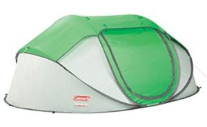 best Coleman 4 person instant pop up tent