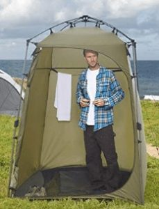 lightspeed large camping shower tent