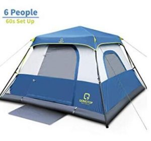 6 man lightweight tent for camping