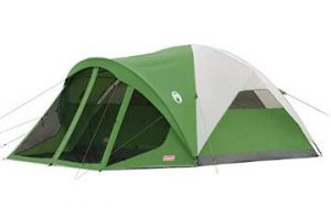 Coleman 6 person camping tent with dome style