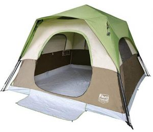 6 person instant cabin tent for camping