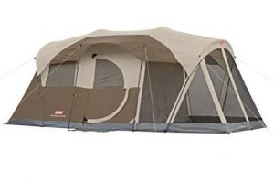 coleman tent with screen porch
