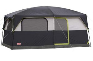 Coleman Prairie Breeze Lighted Cabin Tent for 9 Family of 9