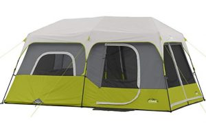 Core 9 man cabin tent for camping