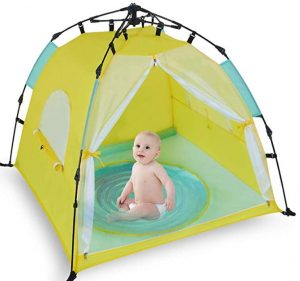 quick setup beach tent for toddlers