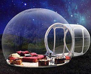 bubble house for backyard