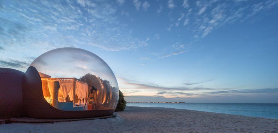 set up an air tent