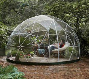 transparent bubble tent for backyard