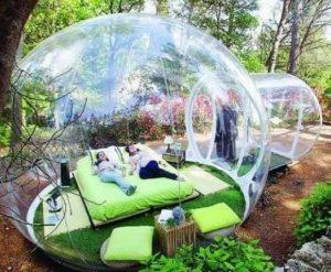 bubble room tent