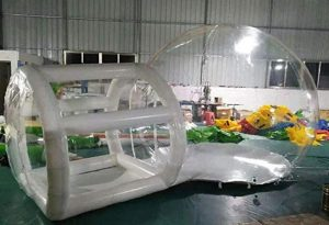outdoor bubble tent