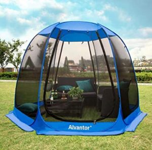 10x10 canopy camping tent