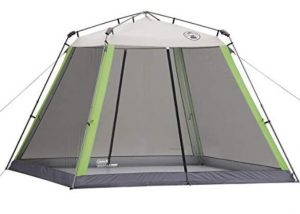 Coleman instant screen camping tent