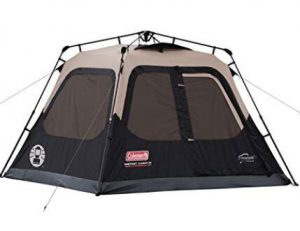 Coleman spacious tent for senior camping