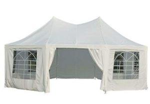 white gazebo tent