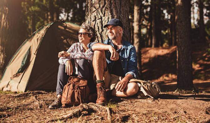 choose a proper campsite for old campers