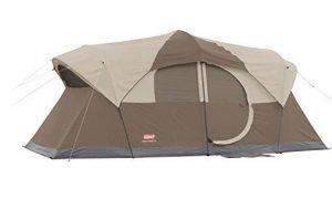 Coleman outdoor campingt tent with screen room