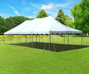 large frame tent for party