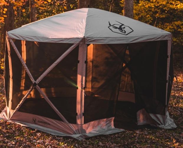 best place to set up a gazebo