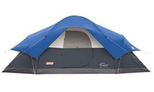 Coleman 8 man tent for camping
