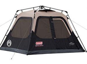 Coleman instant cabin tent for rain