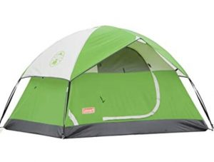 Coleman backyard tent for camping