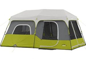 Core 9 person cabin tent for rain