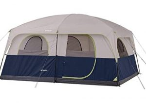 2 room cabin tent for rain weather