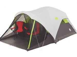 spacious 5 man tent