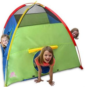 kids tent for backyard play and camping
