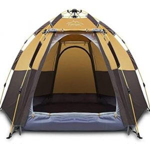 best tent for backyard camping with two doors