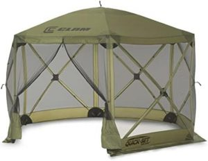 screen tent for backyard camping