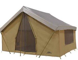 Trek canvas cabin tent for family